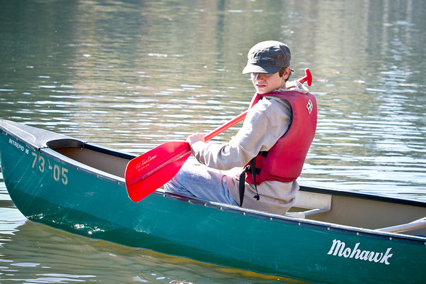 Scouts Canoe Outing in Peachtree City
