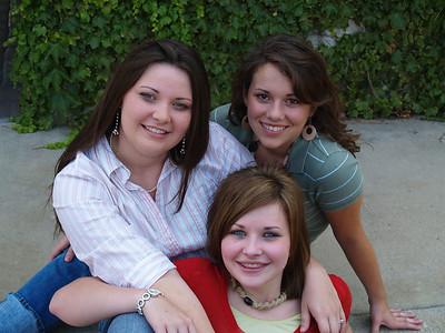 July 2007 - Ashley, Nicky, Sam