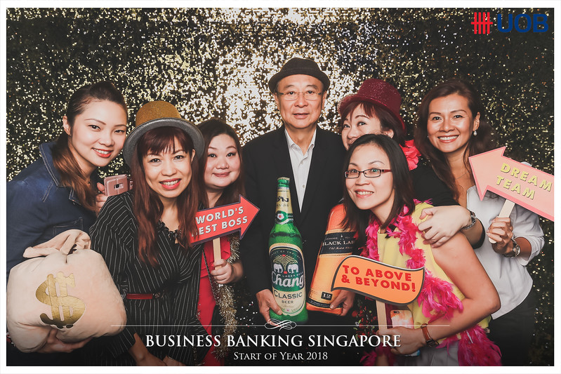UOB Business Banking Singapore   © www.SRSLYPhotobooth.sg