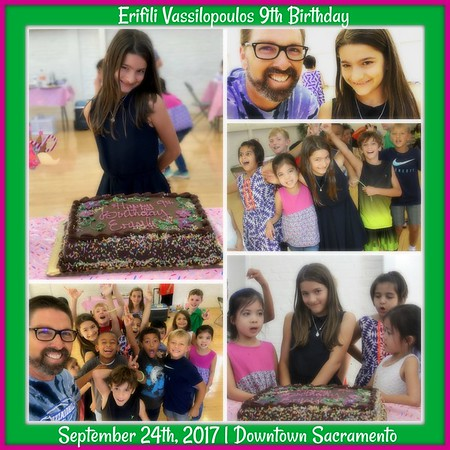 SEPTEMBER 24TH, 2017 | Erifili Vassilopoulos 9th Birthday