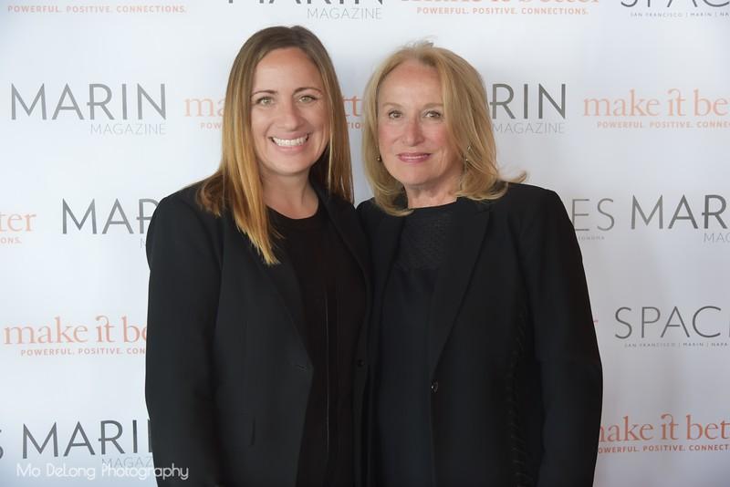 Leah Bronson and Annette Gellert