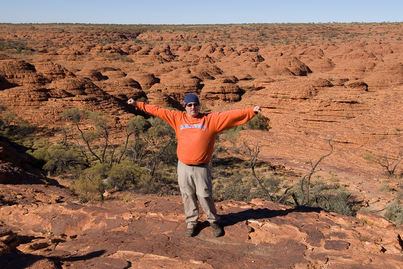 Me in Kings Canyon - Northern Territory, Australia