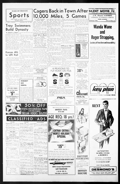 Daily Trojan, Vol. 57, No. 58, December 15, 1965