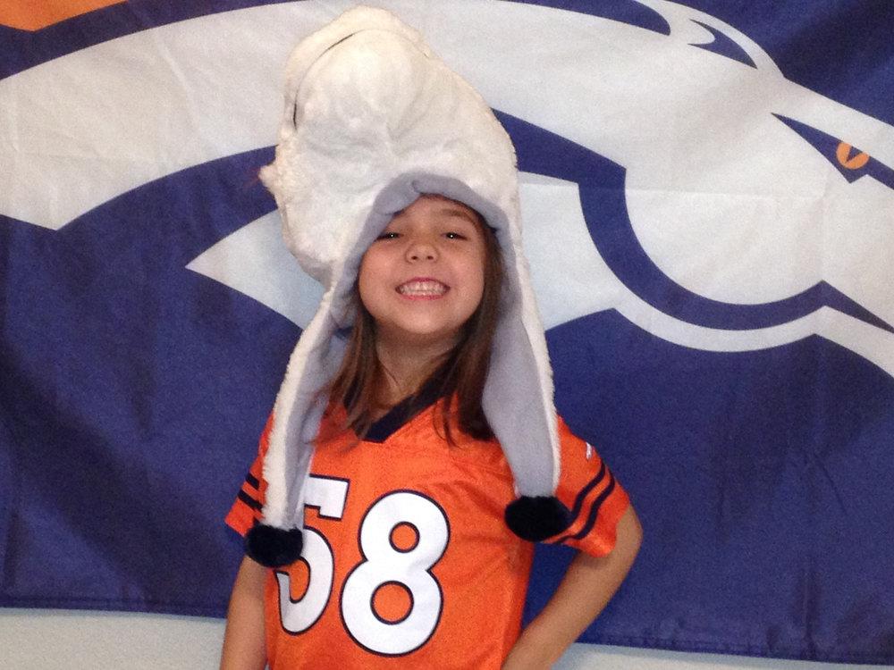 . Go Broncos!!!  Mya Bailey
