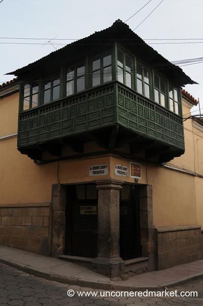 Traditional Potosi Balcony - Balcony