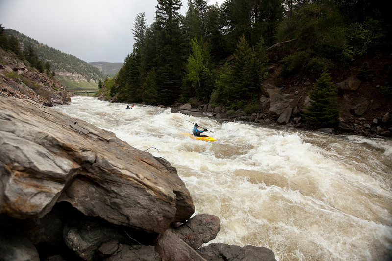 . The Eagle River is one of the few free-flowing rivers in the state, and offers a moderate run in the Lower portion with just enough rapids to keep it exciting and push kayakers to up their skills.  (Provided by Colorado River Outfitters Association)