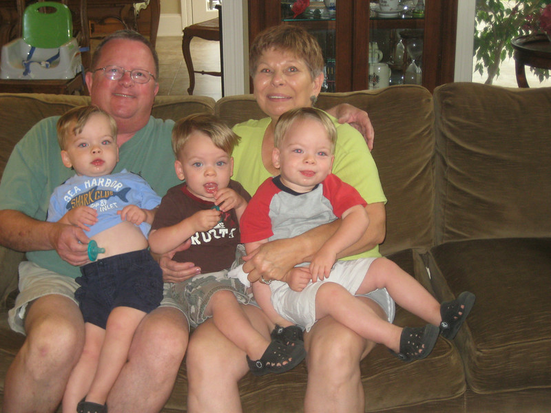 Grandee, Larry, and the boys