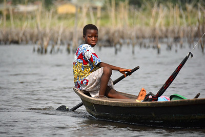 Benin: Ganvie Lake Village 2019