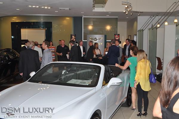 DSM Luxury Preview Event at Bentley Newport Beach