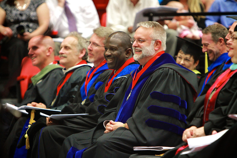 Spring Graduate Commencement 2012; May 14 Graduation Ceremony.