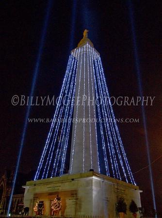 Inner Harbor Christmas Lights - 03 Dec 09
