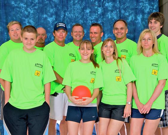 Orlando's Corporate Dodgeball Team Photos-July 2009