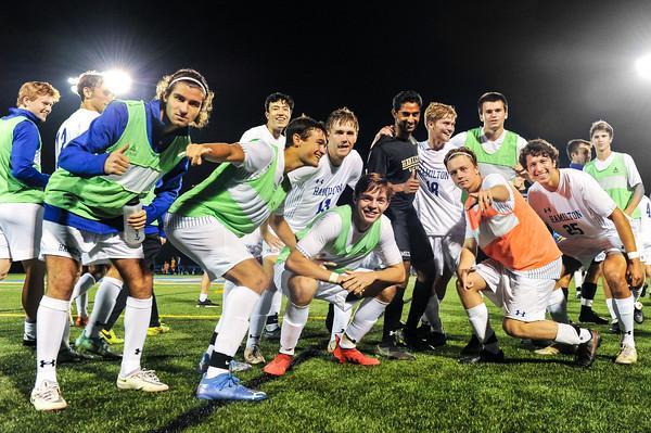 Hamilton Men's Soccer v SUNY Poly 10-13-21
