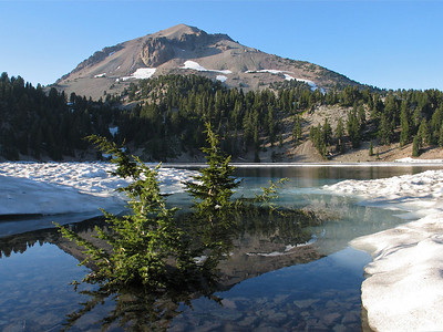 Mt Lassen National Park Northern California
