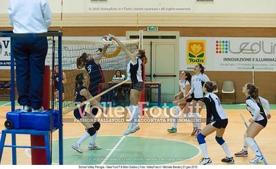 School Volley Perugia - New Font F.lli Mori Gubbio [U16F]