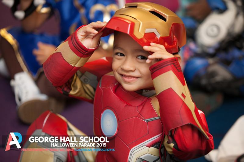 George Hall Elementary Halloween Parade 2015