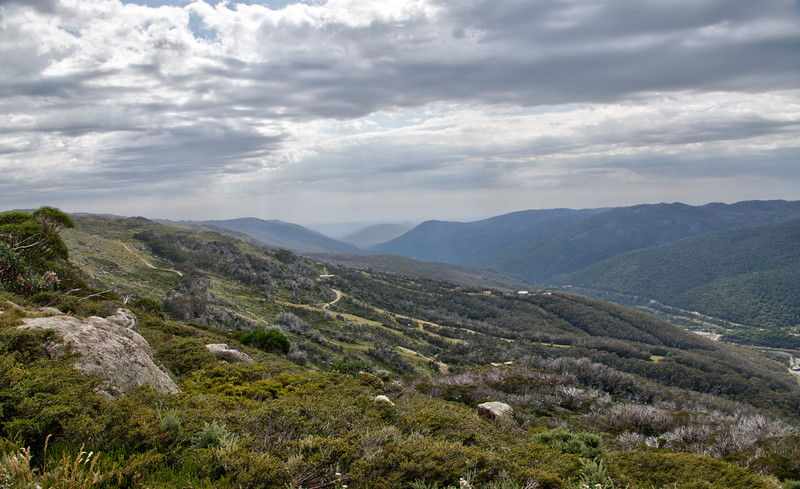 View from MtKosciuszko
