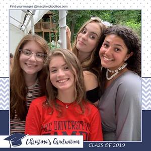 Christina's Graduation July 6, 2019