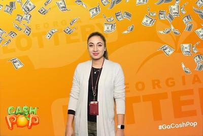 georgia lottery cash pop influencer event