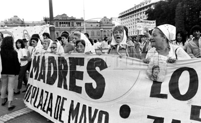 Argentina's Mothers of the Plaza de Mayo, 1987