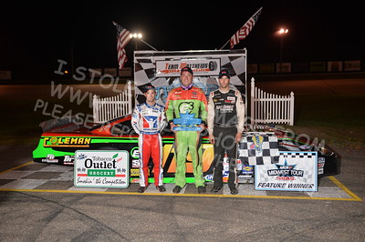 "ARCA Midwest Tour ""Mid-Summer Showdown 100"" Victory Lane"