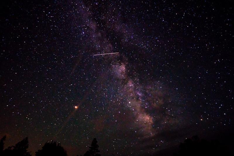 Milky Way and Satellite
