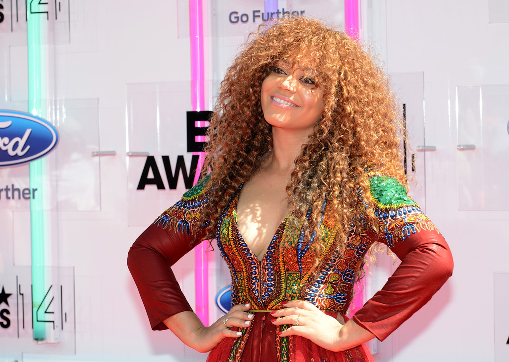 . Actress Nadia Buari attends the BET AWARDS \'14 at Nokia Theatre L.A. LIVE on June 29, 2014 in Los Angeles, California.  (Photo by Earl Gibson III/Getty Images for BET)