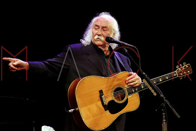 Poughkeepsie, NY - August 20 2016:  The Saturday, Aug 20, 2016 David Crosby Concert at The Bardavon 1869 Opera House.