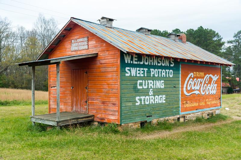 GA, Roopville - Coca-Cola Wall Sign 05