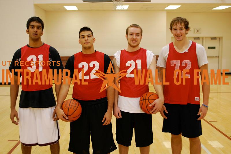 3-on-3 BASKETBALL Men's Runner Up   ATX Hoopers  Nikhil Abreo, Oscar Patino, Nathan Budden, John Paul Wells