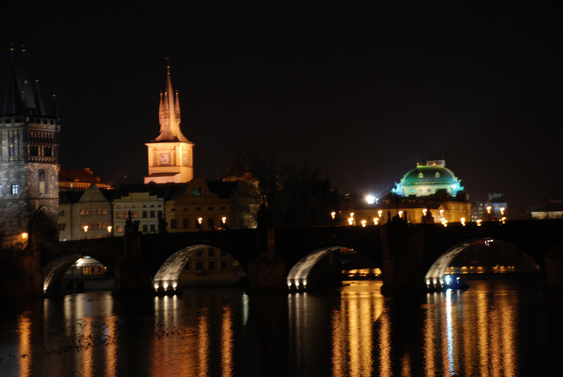 Prague Night Scene Near Water 12.JPG