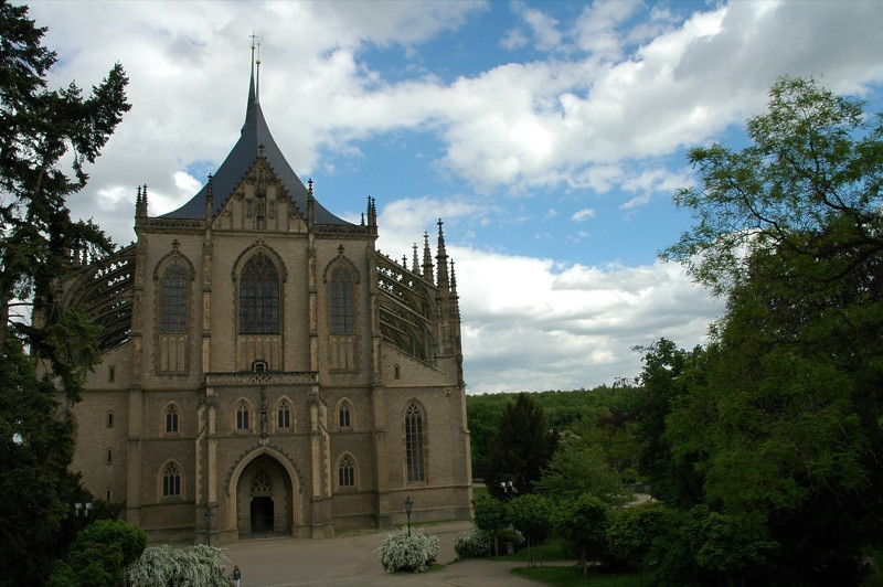Church of St. Barbora - Kutna Hora, Czech Republic