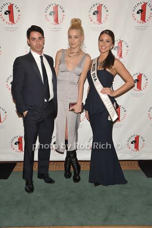 Zach Waksal, Victoria Secret Model Jessica Stam and  Miss USA 2014 Nia Sanchez