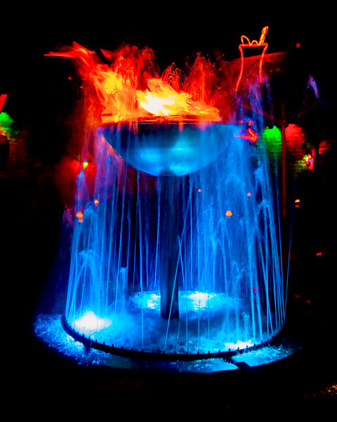 Pat O'Brien's Flaming Fountain