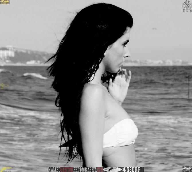 beautiful woman sunset beach swimsuit model 45surf 516.09..09..