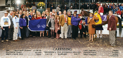 CARESSING - 11/04/2000