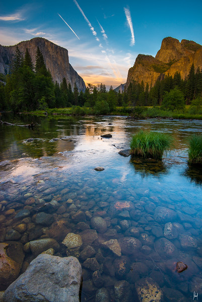 Valley View Yosemite National Park, California