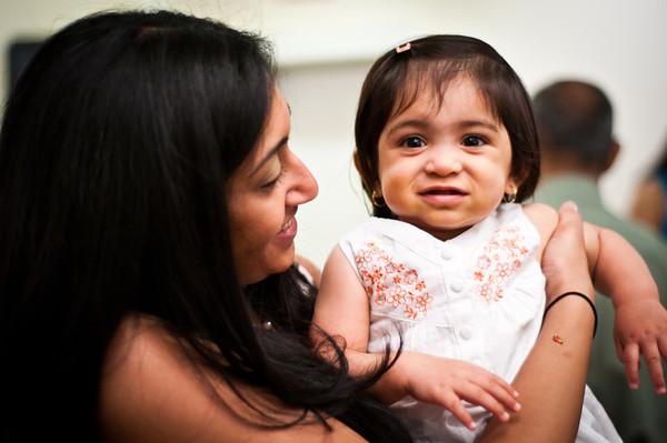 Aasha's 1st Birthday