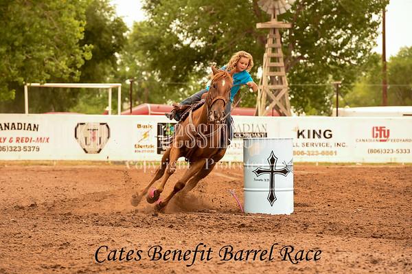 CATES BENEFIT BARREL RACE