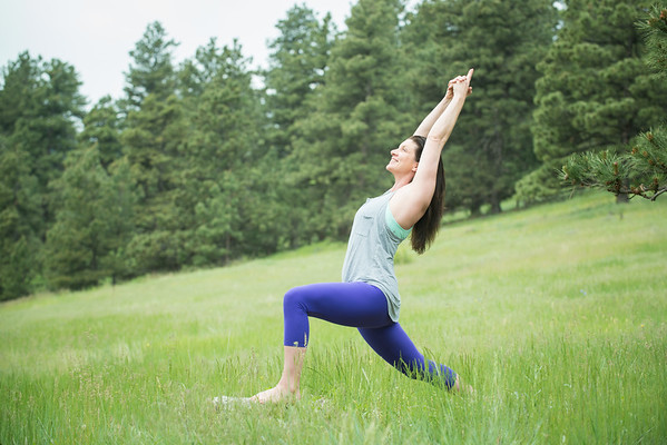 Gina Caputo Yoga Portraits