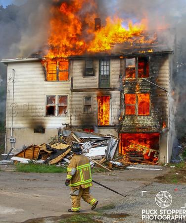 Live Burn - Live House Burn, Naugatuck, CT - 9/27/18