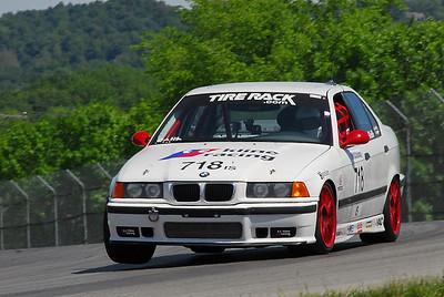 BMW CCA Club Racing at Mid-Ohio, May 2013