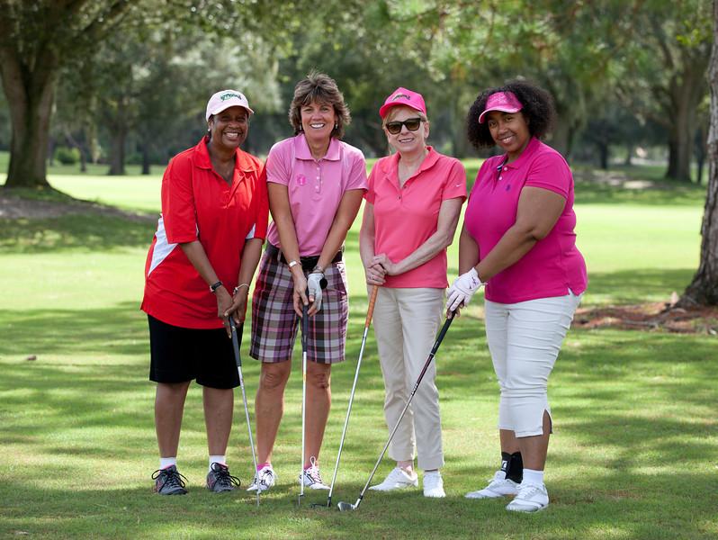 Romaine and Patti's golf group.jpg
