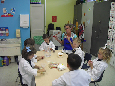 PreK Week 24  Chemistry-How do things change, cooling down and edible science!  Testing for acids and bases. Building and testing our geyser car