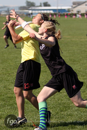 Westerns Ultimate Frisbee Tournament Day 2 5-9-10