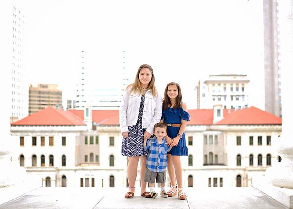 Kaylee, Miranda & Caden {spring mini}