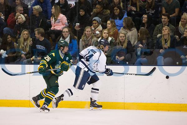 Ice Hockey vs. Oswego ft. Teddy Bear Toss