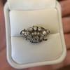 1.52ctw Victorian Diamond Crown Motif Clasp 24