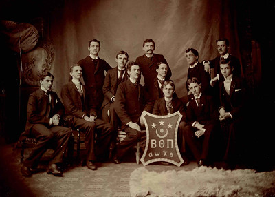 Alpha Chapter Period Photos: 1890-1930