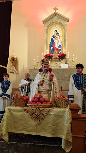 Blessing of Pomegranates  2017